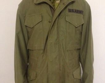 Vintage M1965 field jacket 101st ABN patch
