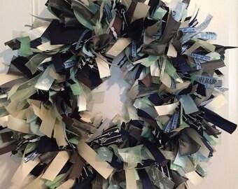 It's A Boy Ribbon Wreath