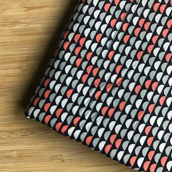 Furoshiki Gift Wrapping Cloth - Japanese Cotton Furoshiki - Retro Smiles Design by Kendo Girl