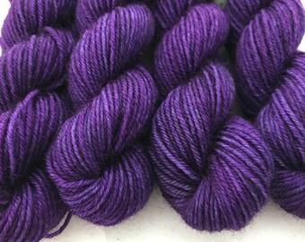 Jewel Violet - BFL 4 Ply Mini