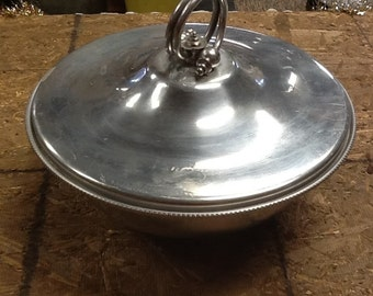 Vintage Mid-Century Buenilum Serving Bowl with Lid