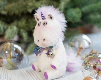 Unicorn plush unicorn toy stuffed unicorn teddy bear birthday gift soft toy unicorn art doll unicorn Magical Unicorn suffed unicorn