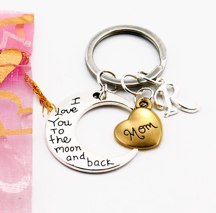 Mom Gift Personalized Gifts For Mother Birthday Daughter Son Keychain