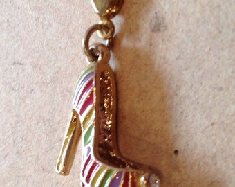 High Heel, Shoe Charm, Necklace pendant