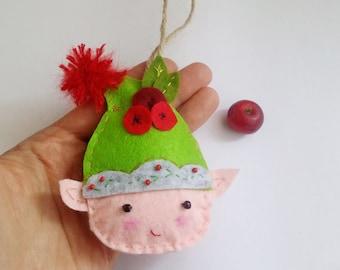 Cherry Berry Elf pattern - Christmas Elf Pattern - Christmas Elf