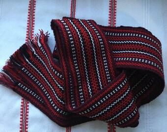 Handmade Ukrainian Woven Belt Krayka
