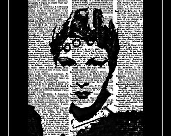 Beautiful 1920s style movie star 413