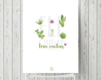 Reed illustrated - Love Cactus