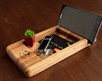 Mens Desk Organizer Etsy