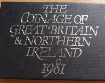 royal mint 1981 coin collection
