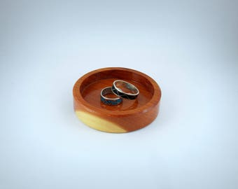 Wooden Ring Holder, FREE SHIPPING in USA, Rustic, Simple Minimalist Jewelry Holder, Mother's Day Gift, Gift For Her
