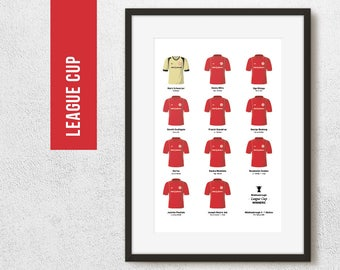 Middlesbrough 2004 League Cup Winners Football Team Poster Art Print *FREE UK DELIVERY* Gift Idea