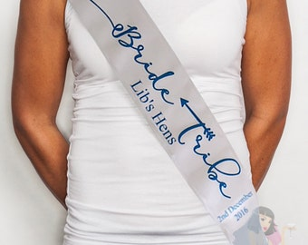Bride Tribe Custom Made Hens Party Sash