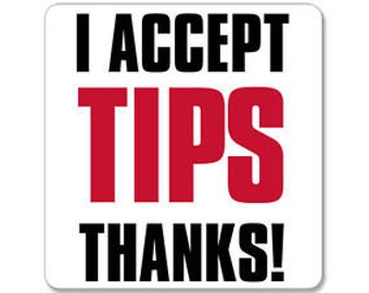 I Accept Tips