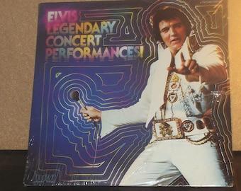 Elvis Presley Legendary Concert Performances Sealed Vinyl 2LP Record