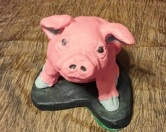 Solid Cast Iron Pig, free shipping