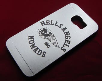 Customised Motorcylce/Car Club Engraved Phone Case - iPhone Samsung Nokia Xperia - Have your motorcycle/car club motif engraved on a phone
