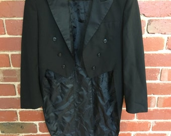 1960s or 1970s 'After six' tail coat