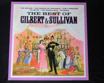 Gilbert and Sullivan by the Royal Philharmonic Orchestra and James Walker 3LP Vinyl Box Set, Best of Gilbert & Sullivan Vinyl 3 LP Box Set