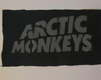 Arctic Monkeys punk patch