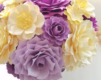 Paper Flower Arrangment | Gift | Centerpiece