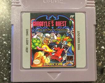 Gargoyle's Quest II 2 The Demon Darkness Gameboy Color GB NES Nintendo Game Cartridge