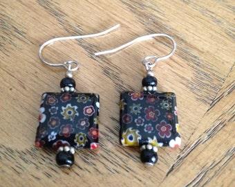 Murano Art Glass Earrings