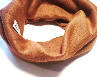 Copper handmade snuggle snood