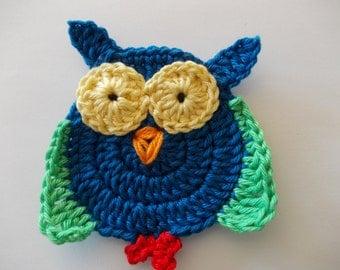 1 OWL - crochet