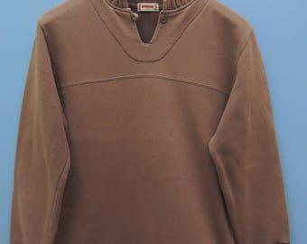 Vintage Mc Gregor Sport Wear Sweatshirt Urban Fashion Pull Over Sweater Size L