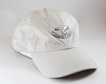 Carnegie Abbey Dad Hat // Khaki Baseball Cap // Portsmouth Rode Island Golf Club
