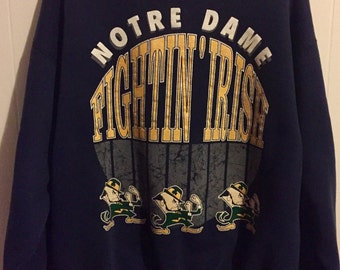 """Shop """"notre dame fighting irish"""" in Clothing"""
