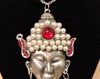 "Buddha Necklace 24"""