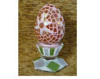 Easter Egg, Mosaic Egg, Easter Decorations, Easter Decor