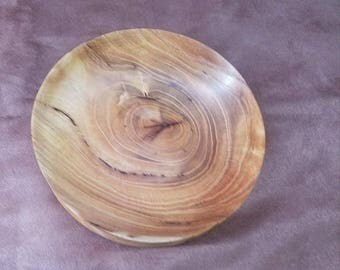 Hand Turned Mulberry Wooden Bowl