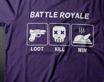 Battle Royale Shirt, H1Z1, Gamer Shirt, Gamer Gifts, PC Gamer Girl Shirt, Battlegrounds Shirt, Gaming Shirt, Gift for Gamers, Gamer Couple