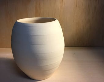 handmade stoneware 'beehive' vase