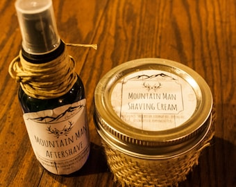 Mountain Man Shaving Kit