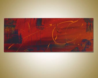 "SC-Art - abstract & modern / Acrylic Painting / 12"" x 31"""