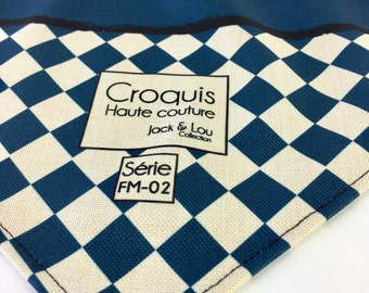 Scarf for dog/size medium/buttons pressure/diamond weed / great quality fabric / washable / robust/great cute