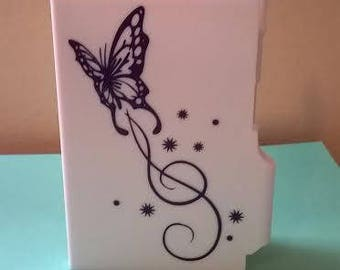 Mini Notepad with Pen, Butterfly Notepad