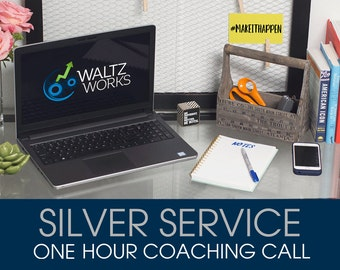 Silver Service - One Hour Coaching/Mentoring Call