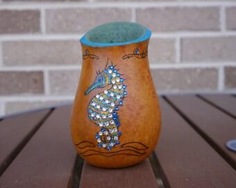 Seahorse Gourd Vase