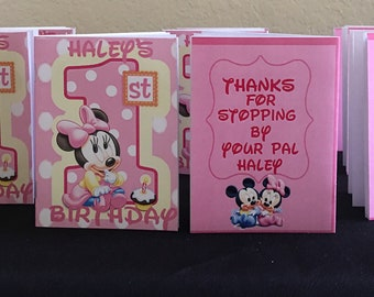 Mickey or Minnie Coloring Books (10) - we can do any theme