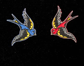 SWALLOW / RONDINE Sailor jerry Iron Patch