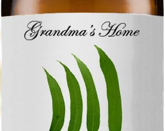 Lemon Eucalyptus Oil - 5mL+ - Grandma's Home 100% Organic, Pure and Natural Theraputic Aromatherapy Grade Essential Oils