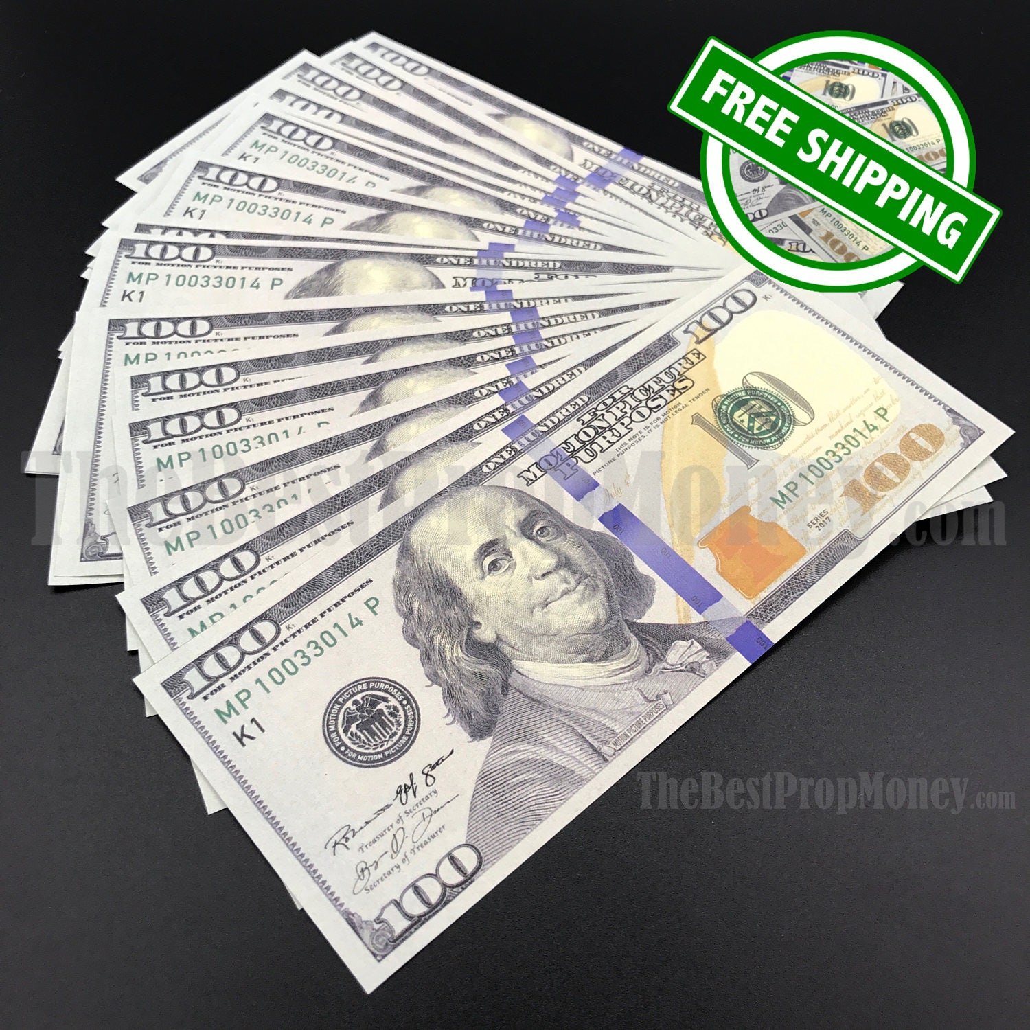 Prop Money 100 Dollar Bills – Jerusalem House
