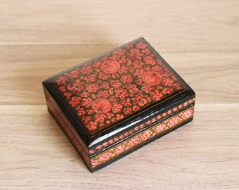 Beautiful Flowery Paper Box