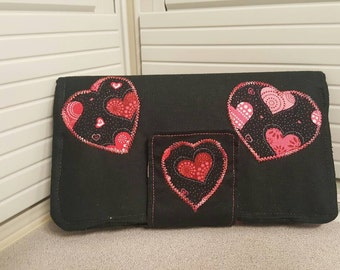 Adorable Heart Print Wallet