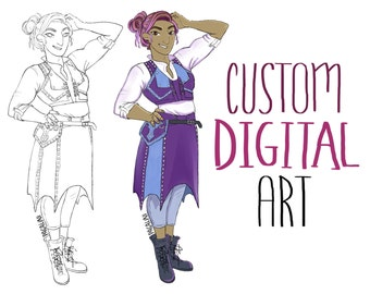 Custom Digital Art Commissions